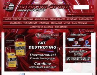nutricion-sport.com screenshot