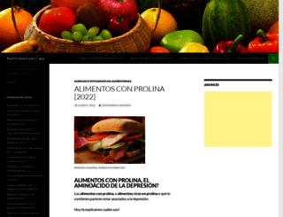 nutricionistaencasa.com screenshot