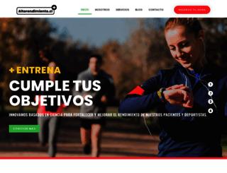 nutricionok.cl screenshot