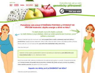 nutricni-typologie.cz screenshot