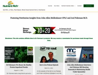 nutrientrich.com screenshot