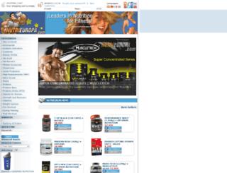 nutrieuropa.com screenshot
