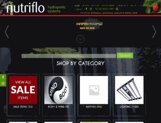 nutriflo.com.au screenshot