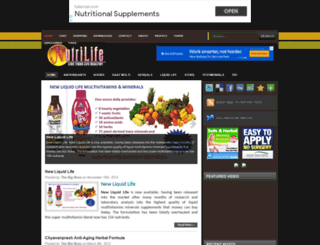 nutrilife.com.my screenshot