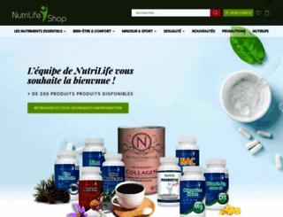 nutrilifeshop-it.com screenshot