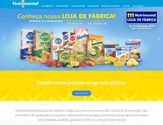 nutrimental.com.br screenshot