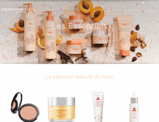 nutrimetics.fr screenshot