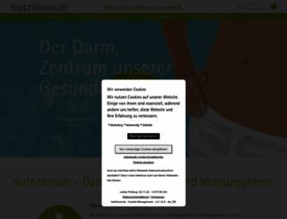 nutrimmun.de screenshot