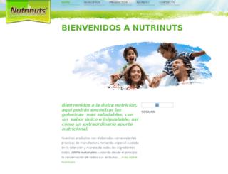 nutrinuts.mexmax-internet.com screenshot