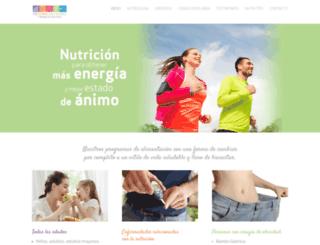nutriologapilarmunoz.com screenshot