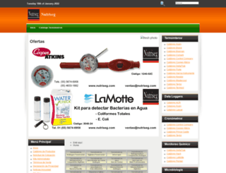 nutriseg.com screenshot