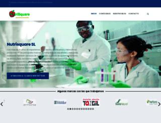 nutrisquare.com screenshot