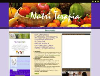 nutriterapia.cl screenshot