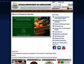nutrition.nv.gov screenshot