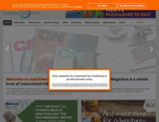 nutrition2me.com screenshot