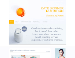 nutritionbynature.com.au screenshot