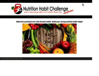 nutritionhabitchallenge.com screenshot