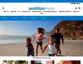 nutritionhouse.com screenshot