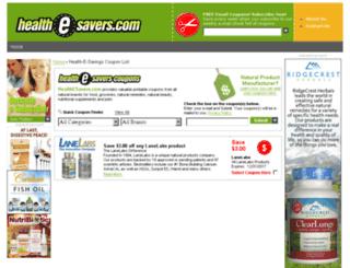 nutritionwise.net screenshot