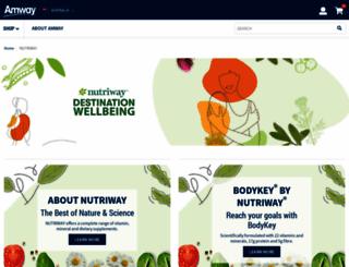 nutriway.com.au screenshot