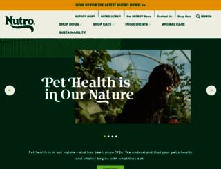 nutroproducts.com screenshot
