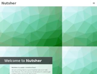 nutsher.com screenshot