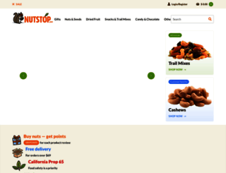 nutstop.com screenshot