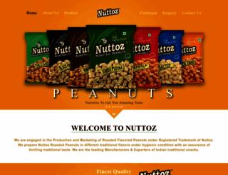 nuttoz.com screenshot