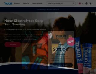 nuun.com screenshot