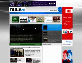 nuus.de screenshot