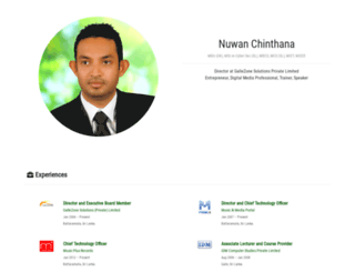 nuwan.info screenshot