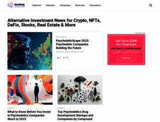nuwireinvestor.com screenshot