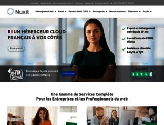 nuxit.com screenshot