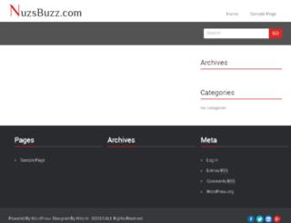 nuzsbuzz.com screenshot