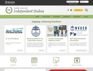nva-nvusd-ca.schoolloop.com screenshot