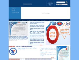 nva.hcmussh.edu.vn screenshot