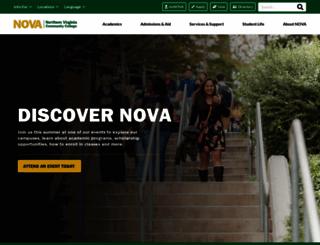 nvcc.edu screenshot