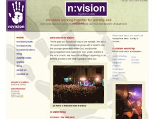 nvision.uk.net screenshot