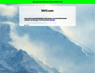 nvo.com screenshot