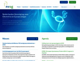 nvog.nl screenshot