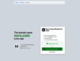 nvrx.com screenshot