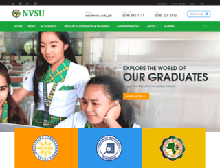 nvsu.edu.ph screenshot