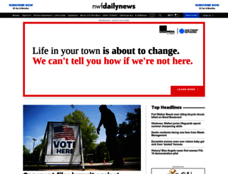 nwfdailynews.com screenshot