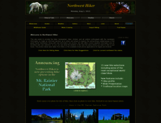 nwhiker.com screenshot