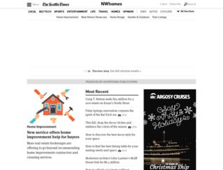 nwhomes.seattletimes.com screenshot