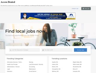 nwjobs.com screenshot