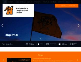 nwlehighsd.org screenshot