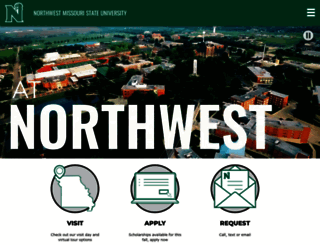 nwmissouri.edu screenshot