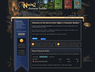 nwn2db.com screenshot