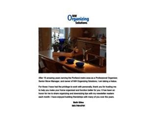 nworganizingsolutions.com screenshot
